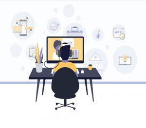 نحوه برگزاری آزمون آنلاین گروه های کلاسی شاد